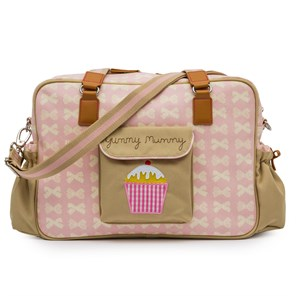 Pink Lining Yummy Mummy (Pink and Cream Bows)