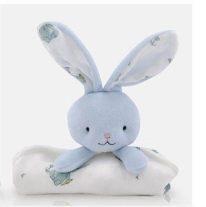 Choopie City Cuddle Uyku Arkadaşı (Blue Bunny)
