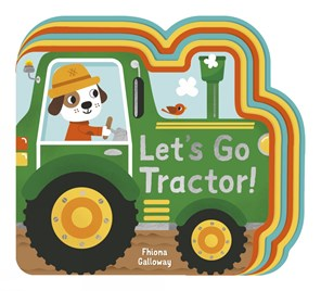 Little Tiger Lets Go, Tractor!