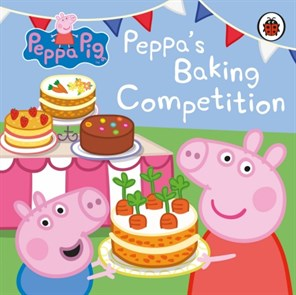 Peppa Pig Board Book | Peppas Baking Competition
